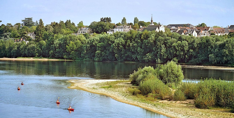 vélo visite de cave et canoë sur la Loire